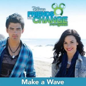 Make a Wave EP – Disney's Friends for Change (feat. Joe Jonas & Demi Lovato) [320kbps] [+Videos]