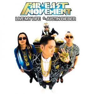Live My Life (CD Single) – Far East Movement feat. Justin Bieber [320kbps]
