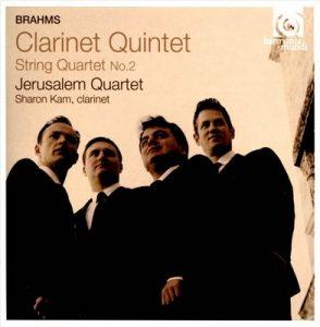 Brahms: Clarinet Quintet, String Quartet No. 2 – Jerusalem Quartet [FLAC]