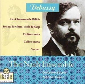 Debussy – Les Chansons De Bilitis, Sonata For Flute, Viola & Harp, Violin Sonata, Cello Sonata, Syrinx – The Nash Ensemble [FLAC]