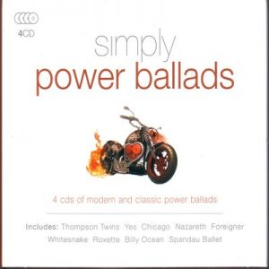 Simply Power Ballads – V. A. (4CD) [320kbps]