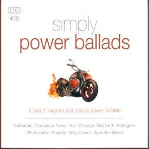Simply Power Ballads – V. A. (4CD) [320kbps]