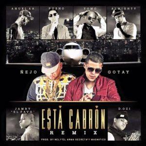 """Esta Cabron (Remix) – Ñejo, Pusho, Almighty, D.Ozi, Jamby """"El Favorito"""" & Yomo [320kbps]"""