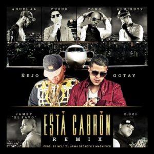 """Esta cabrón (Remix) – Ñejo feat. Anuel Aa, Tomo, Pusho, Almighty, D.Ozi & Jamby """"El Favo"""" [320kbps]"""