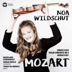Mozart: Violin Concerto No. 5, Violin Sonata No. 32 & Adagio – Noa Wildschut [320kbps]