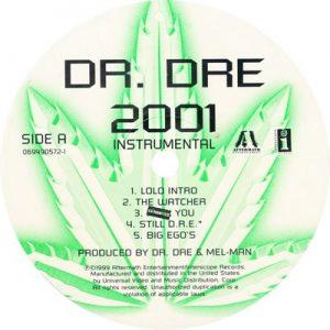 2001 Instrumental [Vinyl] – Dr. Dre [24bits]