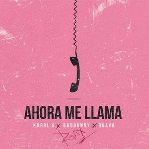 Ahora Me Llama (Remix) – Karol G, Bad Bunny, Quavo [16bits]