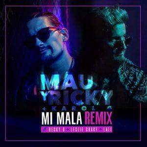 Mi Mala (Remix) – Mau y Ricky, Karol G [320kbps]